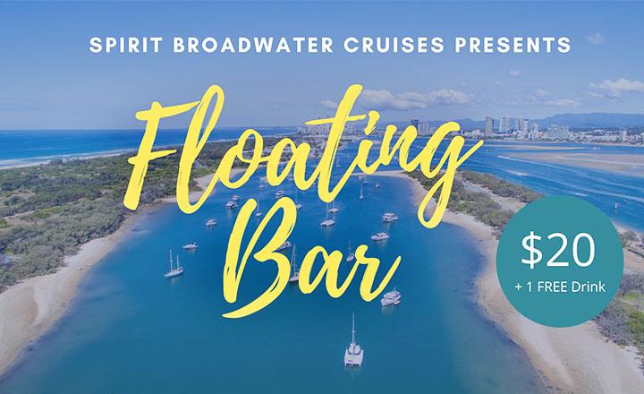 Spirit of Gold Coast's Floating Bar
