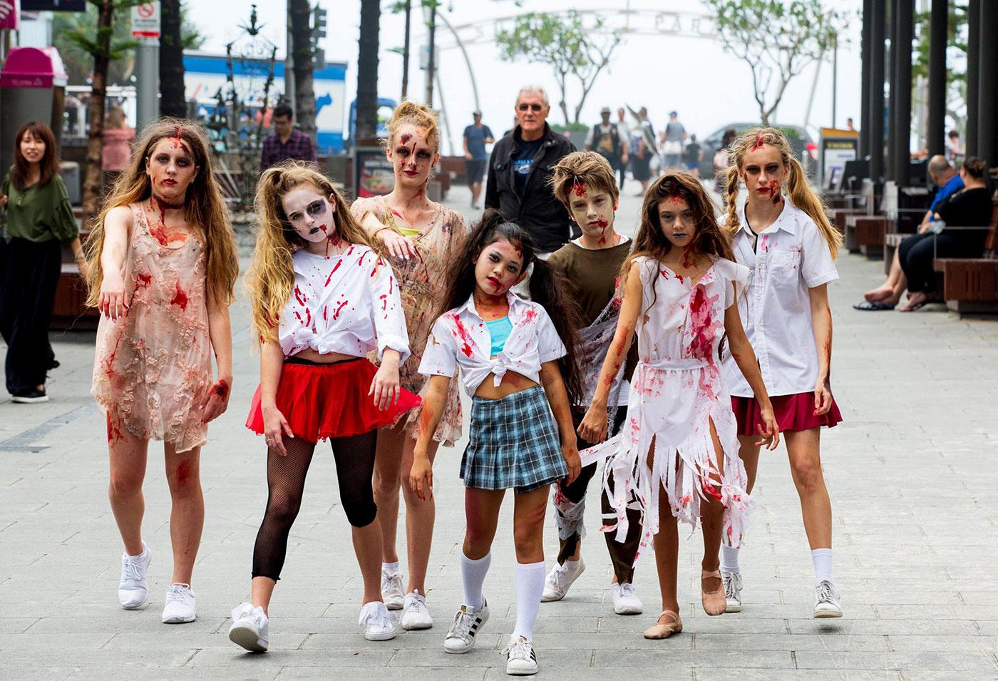 Surfers Paradise Fest Evil Zombie Walk