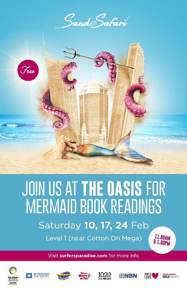 The Oasis Mermaid Book Readings