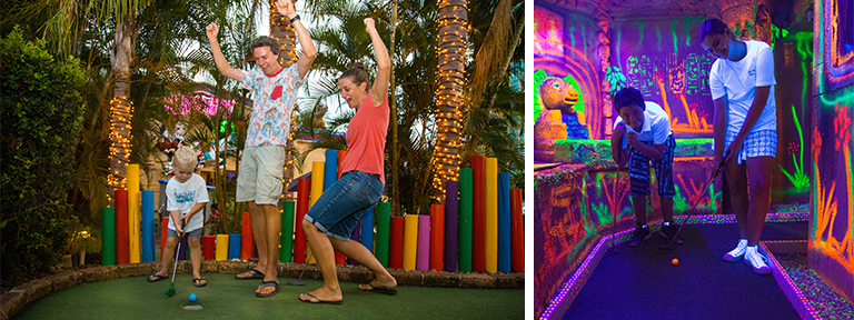 Top Gold Coast Kids Activities King Tutt's Putt Putt