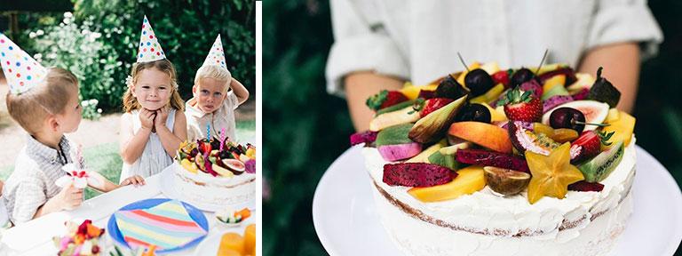 Tropical Fruit World Kids Birthday Parties