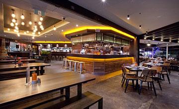 View inside Alto Cucina and Bar