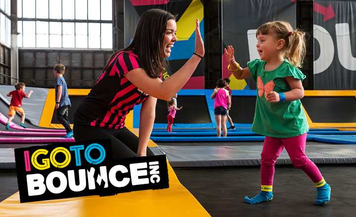 Bounce Indoor Trampoline Park Gold Coast
