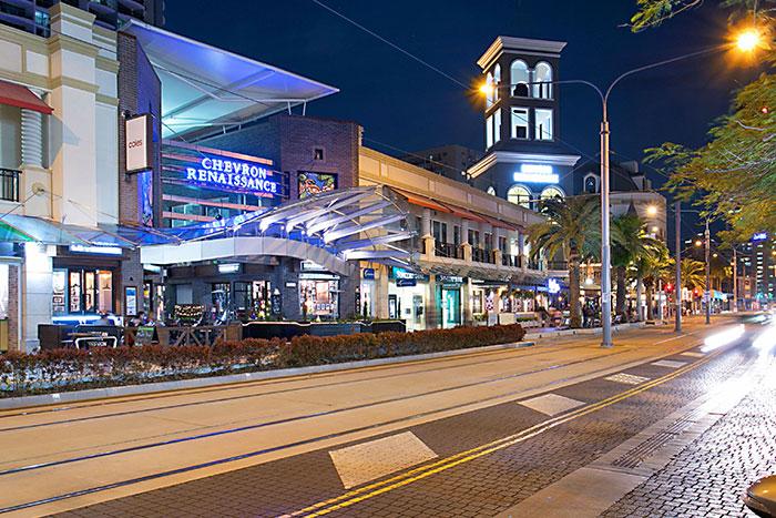 Chevron Renaissance Shopping Centre Surfers Paradise