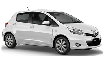 Daves Car Rental Toyota Yaris