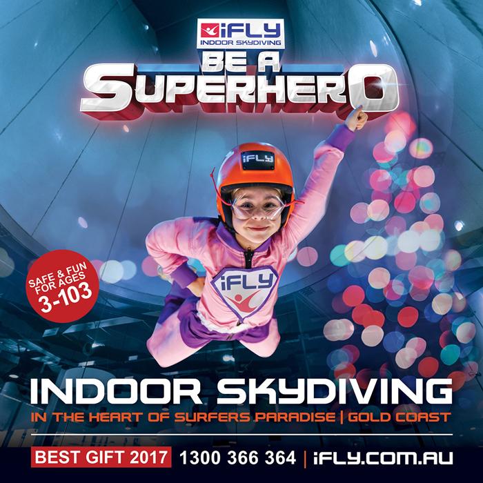 iFLY Indoor Skydiving Gold Coast Gift Voucher