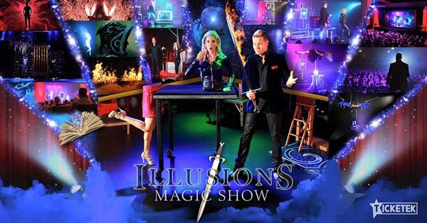 Illusions Magic Show in Sanctuary Cove