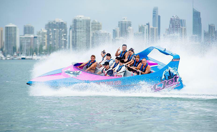Jet Boating at Gold Coast Watersports