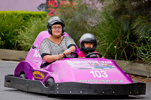 Kingston Park Raceway Go Karting