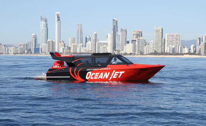 Ocean Jetboating Surfers Paradise