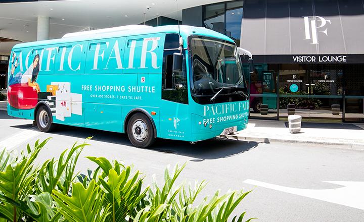 Free Shopping Shuttle to Pacific Fair