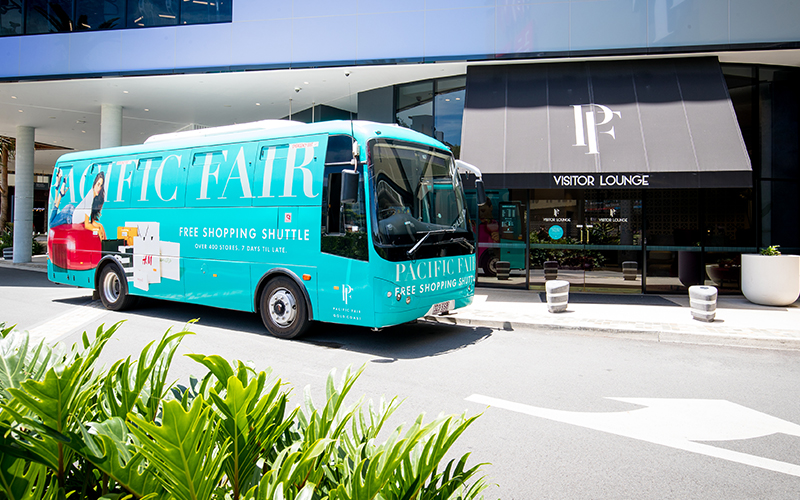 Free Shopping Shuttle to Pacific Fair