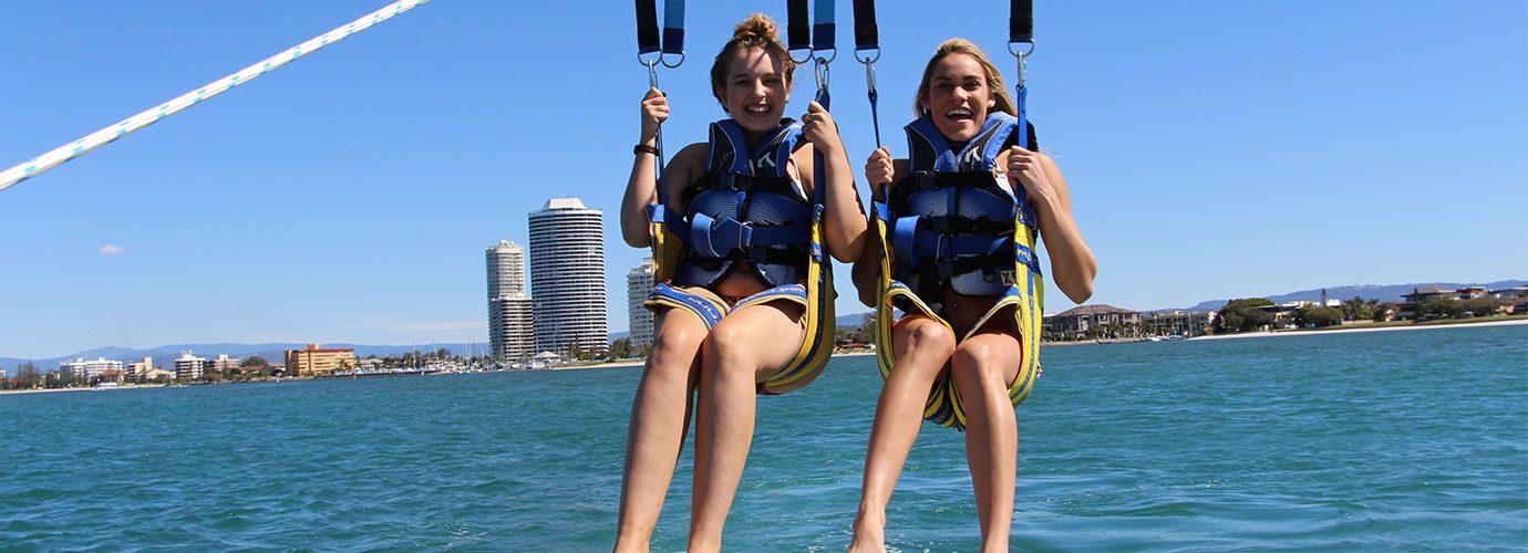 Parasailing at Gold Coast Watersports