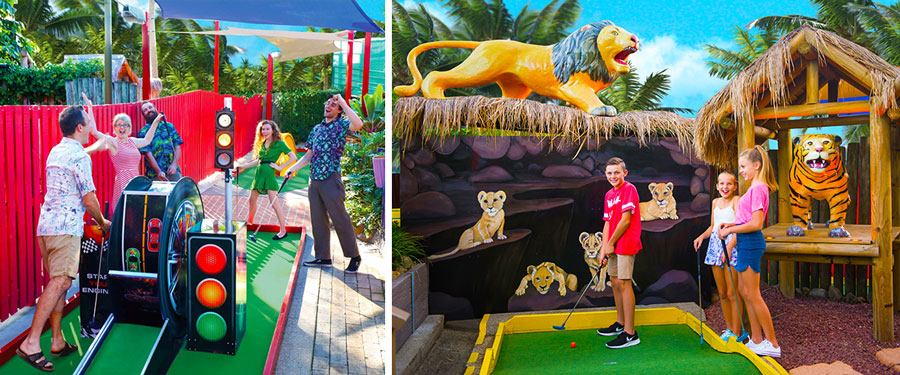 Putt Putt Golf Mermaid Beach